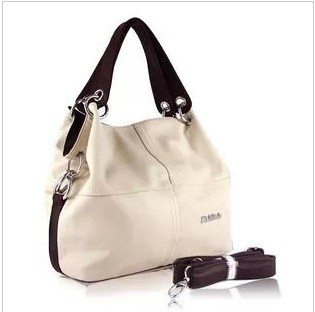 New Paul women's bag shoulder leisure ladies bag Messenger bag retro European and American fashion stitching