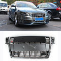 S4 Tipo Cromo Marco Frontal Capucha Grill Grille Para Audi A4 B8 S4 RS4 09-12