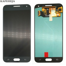 купить Super AMOLED 5.0 Replacement LCD For Samsung Galaxy E5 E500 E500M E500F E500H LCD Display Touch Screen Digitizer Assembly дешево