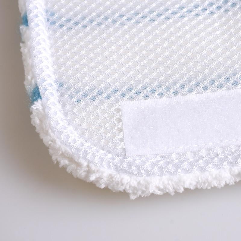 Image 4 - 10 шт. моющиеся салфетки из микрофибры для чистки Black & Decker Fsm1500 1600 1610 1620 1630 Fsmh1621 Fsmp20 Паровые швабры-in Запчасти для пылесоса from Бытовая техника on AliExpress