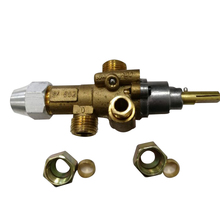 Gas Cooking Appliance Flam FailureGas Valve /  catering equipment valve with NUTS and Olive