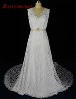 2017 New Design hot sale lace long jacket Wedding Dresses vestidos de novia Bridal gown custom made factory directly