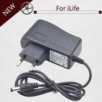 19 V/0.6A Plug UE Adaptador de carregador de Vácuo Peças Mais Limpas para ilife x5 v5 v5s v3 v5 pro a4s a4 a6 V50 V55 V5s pro Aspiradores Robô