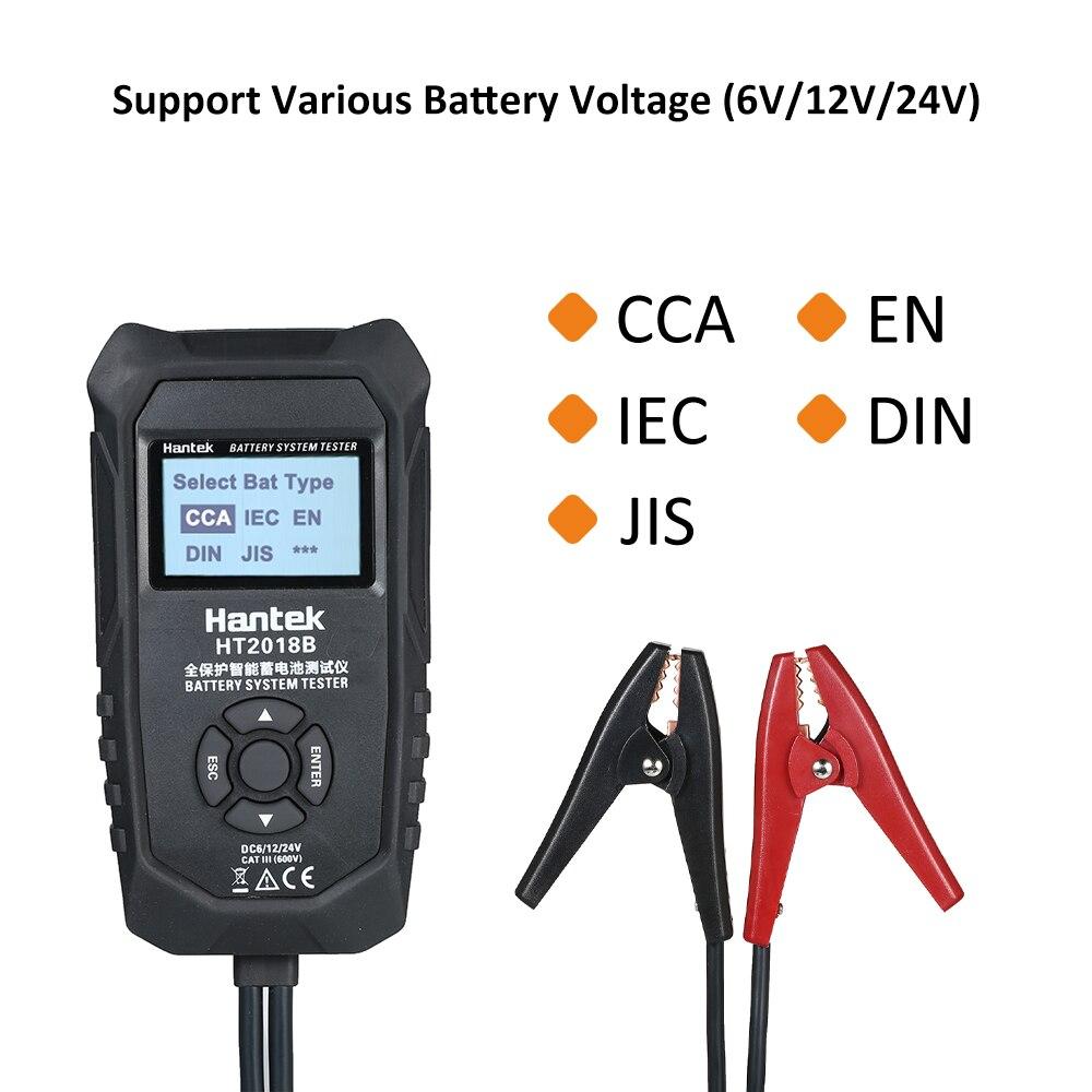 Testeur de batterie de voiture testeur de capacité de batterie numérique test système de charge de charge électrique détecter la voiture sans enlever la batterie