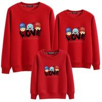 64865a4729 Autumn Family Matching Clothes Christmas Sweaters Family Clothes Matching  Mother Son Outfits Cotton T Shirt. La Famiglia di autunno ...
