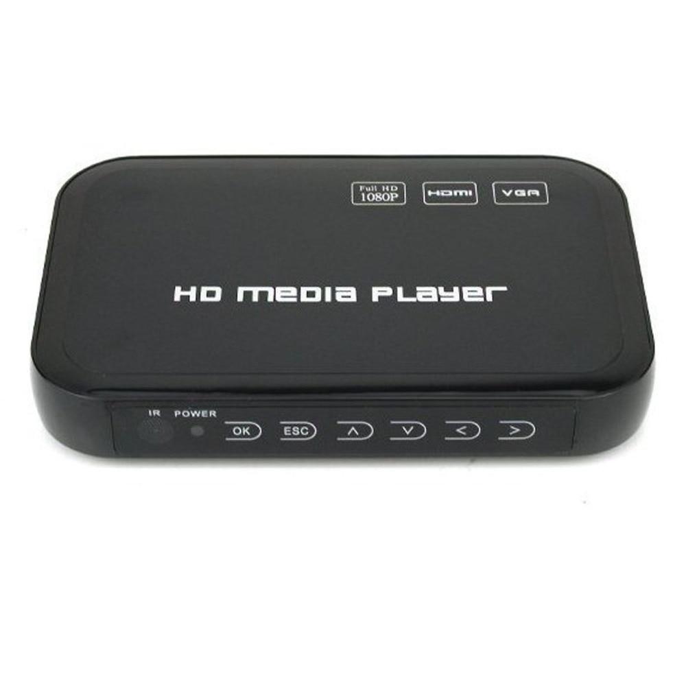 REDAMIGO Новый Mini Full HD1080p H.264 MKV HDD HDMI Media Player Центр USB OTG SD AV ТВ AVI RMVB RM HD601R