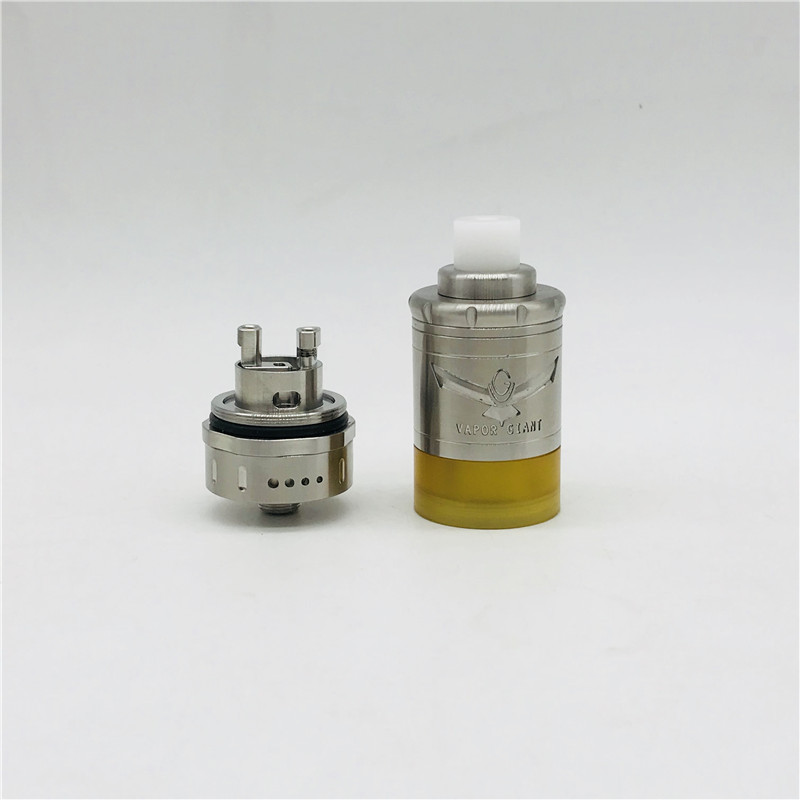 Vapor Giant M5 MTL RTA 5ML 1:1 Replaceable Atomizers Vape Tank 316  Stainless Steel Diameter 23mm E cigarette Hookah Atomizer