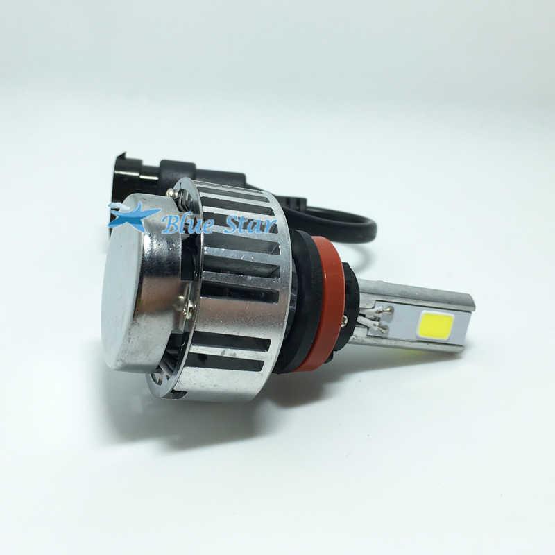 3 COB H8 H9 Headlight H11 bulb 12V 72W 6600LM Auto LED car headlamps replacement bulbs led white 6000k 9005 9006 H7,HB3,HB4