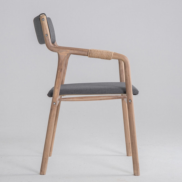 Solid Wood Accent Chair 2