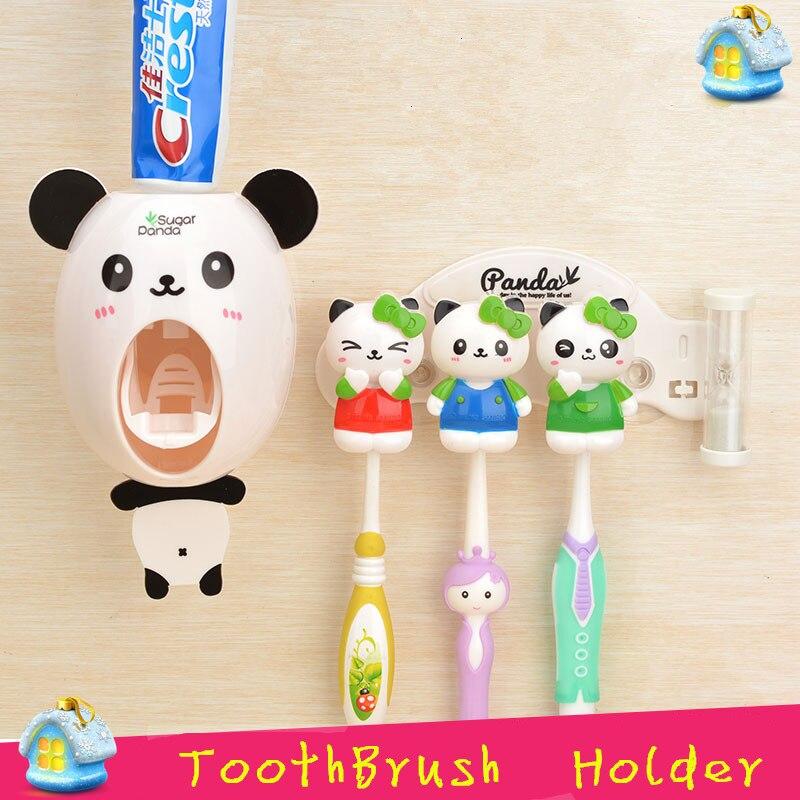 Liyimeng мультфильм Многофункциональный Зубная щётка держатель для хранения органайзера коробка Аксессуары для ванной комнаты всасывания Крю...