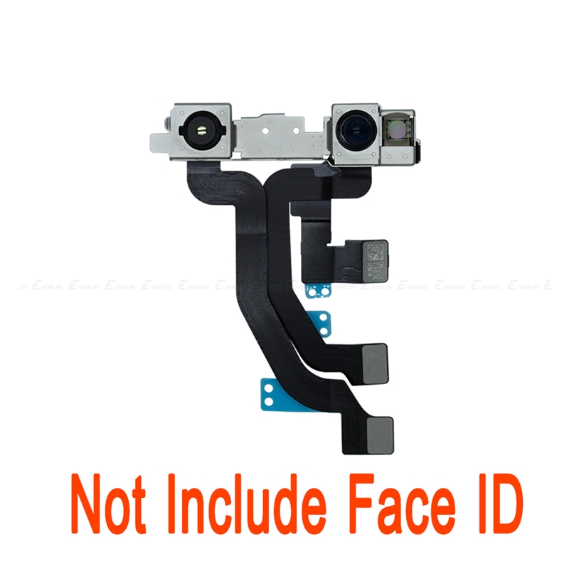 100% New Front Small Camera Lens Flex Cable Replacement Repair Parts For iPhone XS Max Without Face ID