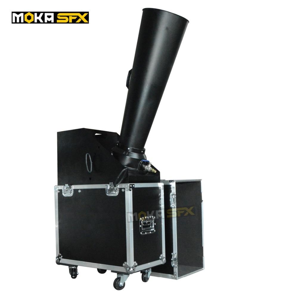 4 Pcs/lot Cast aluminum Co2 Confetti Cannon CO2 Confetti Machine Stage Equipment Paper Wedding Cannon Confetti Machine Products