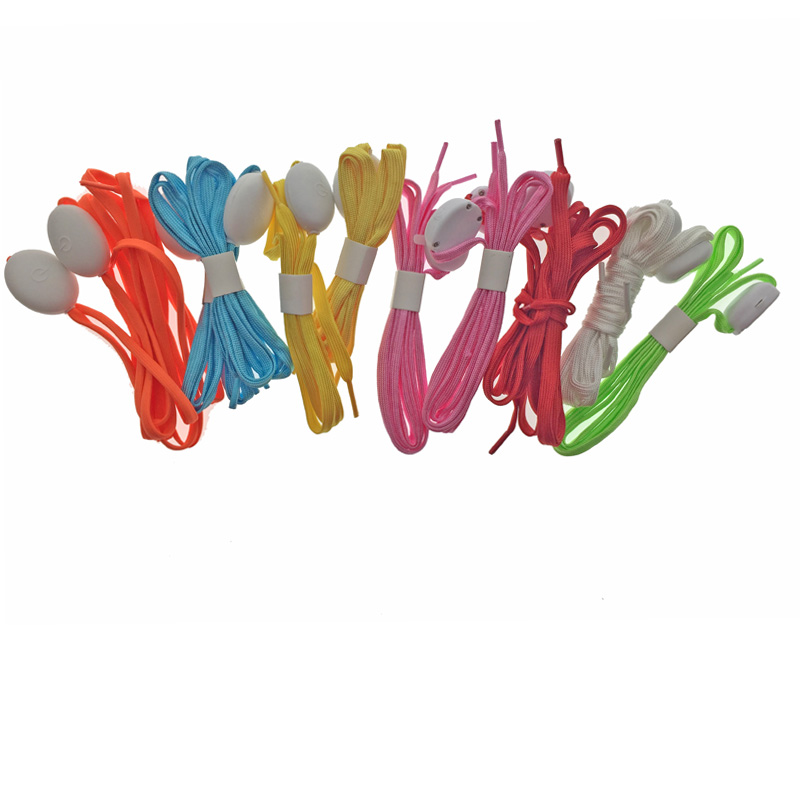 5 пар/лот световой шнурки Для мужчин Для женщин свет Повседневное <font><b>LED</b></font> Шнурки флэш партия дискотека шнурки светящиеся шнурки