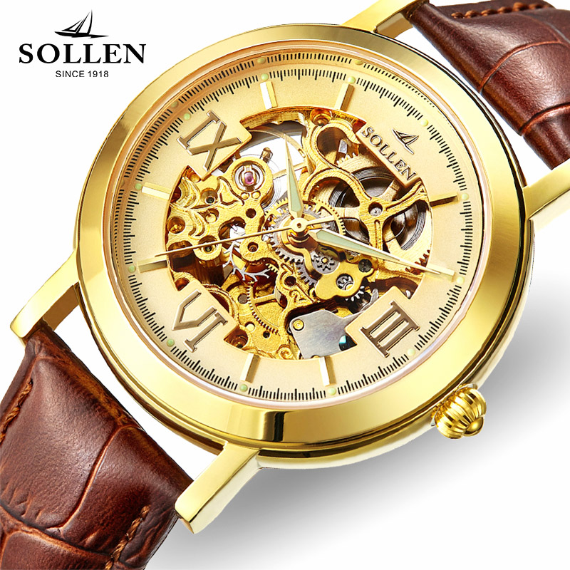 Brand Stainless Steel Skeleton Men Watch Women Dress Wristwatch leather strap automatic mechanical Hollow Military Army Watches famous brand winner watch woman leather strap automatic mechanical watches women skeleton mechanical wristwatch hodinky