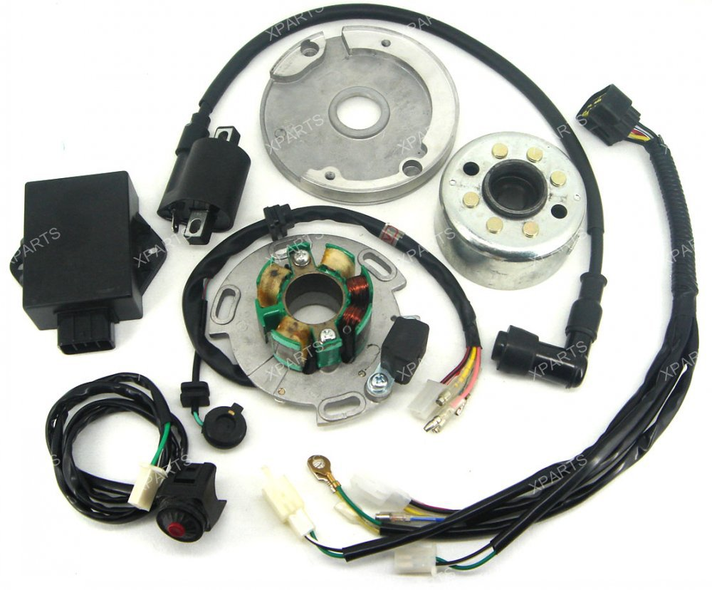 Performance Racing Mag o Stator Rotor Kit Dirt Bike Lf For Lifan Cc Cdi Use For on honda dirt bike diagram