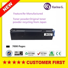 1PCS Re-manufactured for OKI B432 Black Toner Cartridge Okidata B432dnw  etc.