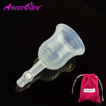 Menstrual cup silicon medical silicone discharge coletor menstrual copa menstrual cup valve lady period menstruatie cup