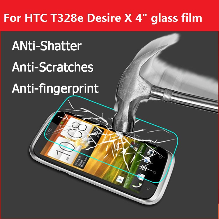 Tempered Glass Film For HTC Desire VC / VT/X/V T328 T329 T/D/W/E Glass film For HTC Desi ...