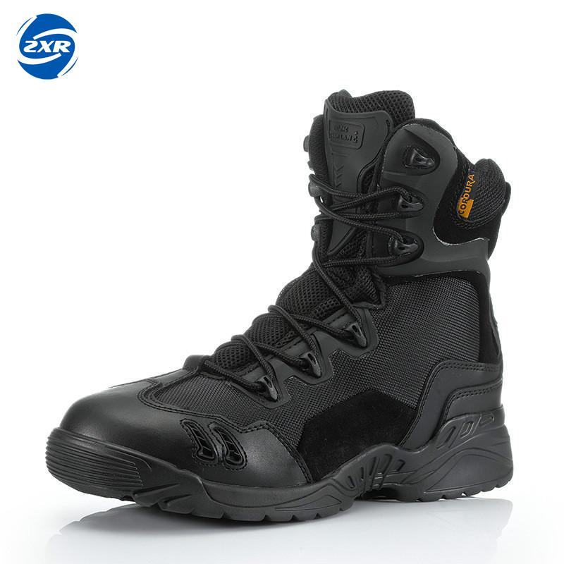 Zuoxiangru Men Breathable Boots Special Forces Tactical Military Boots Desert Army Trekking Outdoor Hiking Shoes Sneakers military army boots 6 0 war delta desert boots special force boots multicam climbing shoe euro 39 45