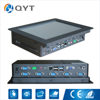 4GB RAM 32G SSD Industrial Computer 10.4 all in one pc Touch Screen Desktop All In One pc with i3 6100U 2.3GHz