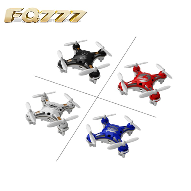 FQ777-124 Pocket Drone 4CH 6Axis Gyro Quadcopter With Switchable Controller RTF Remote Control Helicopter Toys Gift For Children cw motor spare part for fq777 124 pocket drone