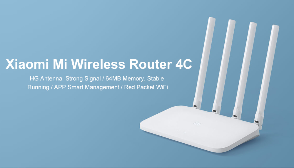 Mi 4C Wireless Router