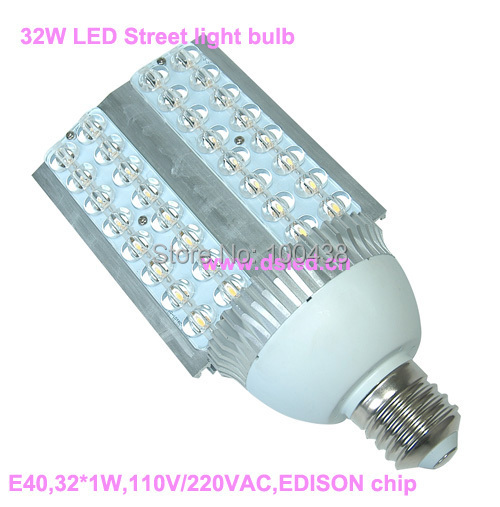 high power,good quality,3-Year warranty,32W E40 LED street light,E40 LED spotlight,EDISON chip,DS-SL-3-E40-32W,4000K,3000K,6500K brand new high quality warranty for one year bes m18mg psc16f s04k
