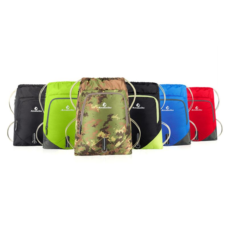 ANMEILU Outdoor Nylon Cycling pack Sports Backpack panniers 12L Beach sports Gym Swimming Pool for bicycle backpack women men