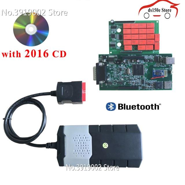 10 pçs/lote atacado Adaptador obdii obd2 Ferramenta de Interface de Diagnóstico Novo VCI tcs cdp pro Carros ds150e CDP para delphis VD para autocoms