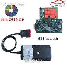 10 шт./лот оптовая продажа obdii obd2 адаптер tcs cdp pro Диагностика автомобилей Интерфейс инструмент новый VCI VD ds150e CDP для delfor для autocoms