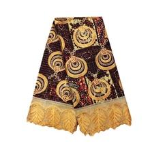Анкара кружево воск супер Netherland голландская паганская африканская вышивка голландский воск с кружевной тканью высокое качество супер JAVA восковая ткань