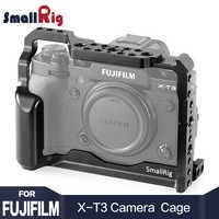 SmallRig DSLR камера клетка для Fujifilm X-T3 X T3 и X-T2 камера с рельсовой ручкой Nato fujifilm xt3 клетка 2228