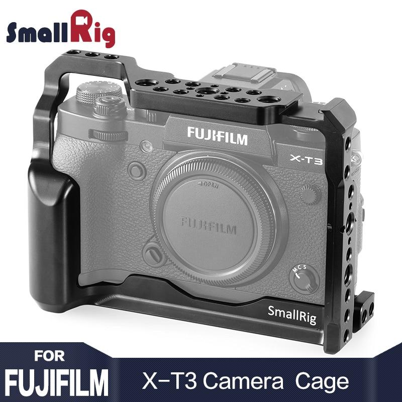 SmallRig DSLR Caméra Cage pour Fujifilm X-T3 X T3 fonction Appareil Photo avec L'otan Rail Poignée Grip Livraison Gratuite 2228