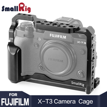 SmallRig DSLR Camera Cage for Fujifilm X-T3 X T3 and X-T2 Camera feature with Nato Rail Handle Grip fujifilm xt3 Cage 2228 mr stone brand handmade genuine leather camera case bag half body camera for fujifilm xt3 fuji x t3