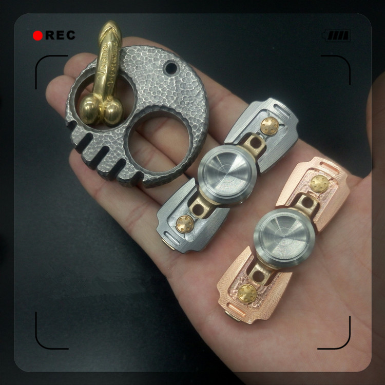 Spinner Fidget Toy Stainless Steel Hand Spinner Focus Gyro ADHD Autism Finger Spiner Toys Increase Focus