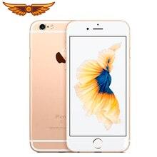 Разблокирована iPhone 6S плюс 5,5 дюймов двухъядерный процессор, 2 Гб Оперативная память 16/64GB Встроенная память IOS 12MP Камера отпечатков пальцев LTE 4G, мобильный телефон с функцией