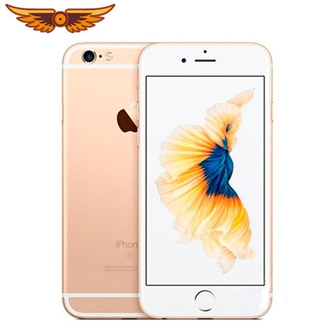100% Original Unlocked iPhone 6s Plus 5.5 Inches Dual Core 2GB RAM 16/64GB ROM IOS 12MP Camera Fingerprint LTE 4G Mobile Phone 1
