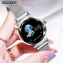 XGODY H2 Women Fitness Bracelet Wrist Band Smart With Heart Rate Tracker Touch Screen Smart Wristband Fitness Monitor