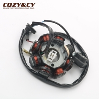 Scooter Ignition Stator 8 coils for China GY6 50cc 139QMA 139QMB 4 stroke