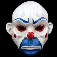 Высокое качество смолы жизни Размеры 1:1 Темный рыцарь Cos маска клоуна супергерой Бэтмен Косплэй Хэллоуин вечерние payday маски