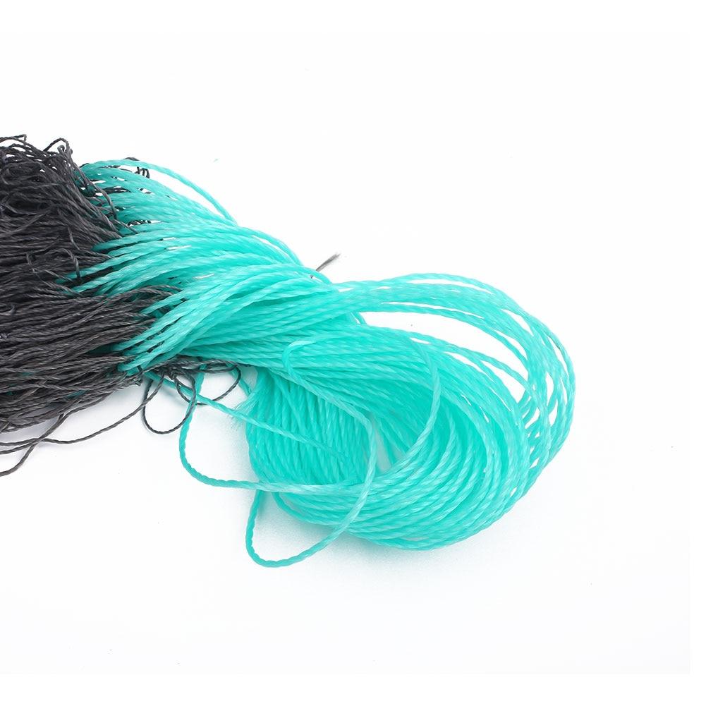 Net Mesh Tire Cord Folding Mesh 10*2M Craft Rabbit Net For Garden Netting Grey
