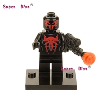 1 pcs star wars super-heróis vingadores marvel Spider-Man 2099 blocos de construção conjunto modelo de ação bricks brinquedos para crianças