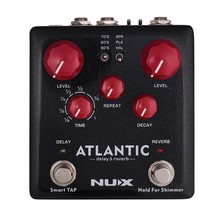 купить NUX Electric Guitar Pedal Multi Effect Processor Amp Simulator Delay Reverb Booster Kompressor Acoustic Guitar Parts Accessories недорого