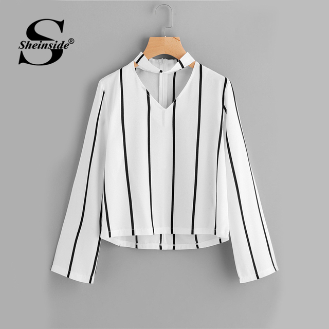 Striped Blouses