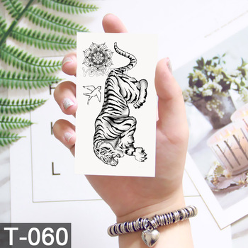 Waterproof World Map Temporary Tattoo Sticker Women Coconut tree planet pattern Body Art New Design Fake Men Tattoos 5