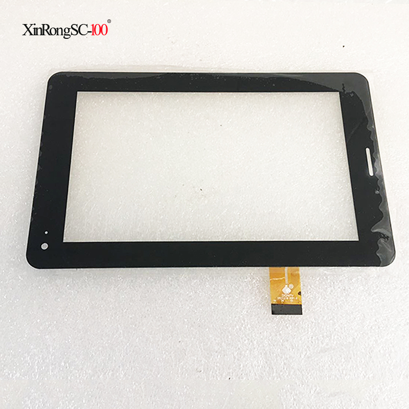 TPC1219 VER1.0 TPC0503 7 inch Megafon Login 2 Login2 MT3A Tablet touch screen Touch panel Digitizer Glass Sensor balck 7inch for megafon login 4 lte mflogin4 login 4g tablet pc hk70dr2671 v02 capacitive touch screen glass digitizer panel