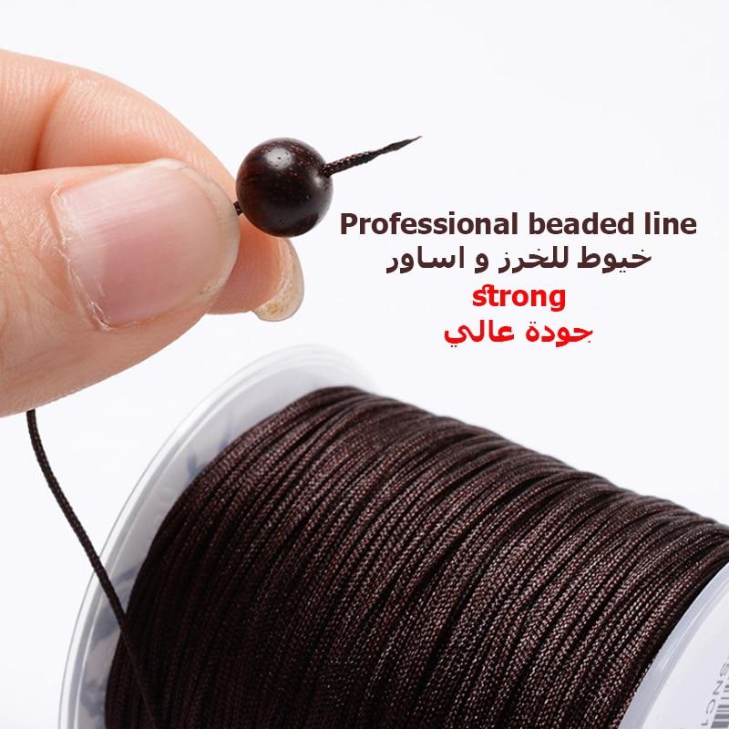 Nylon Tasbih Beads Thread Line Strong High Quality Hard To Break Handmade Thread