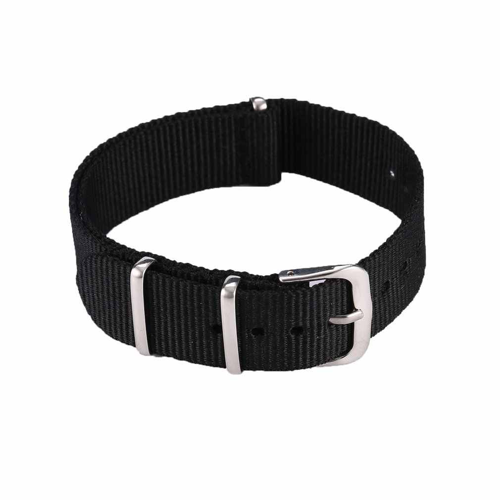 Fashion Watch Band Tahan Air Nilon Strap Watch Band Wrist Strap Aksesoris Pengganti Gelang Aksesoris 2018 Waresale