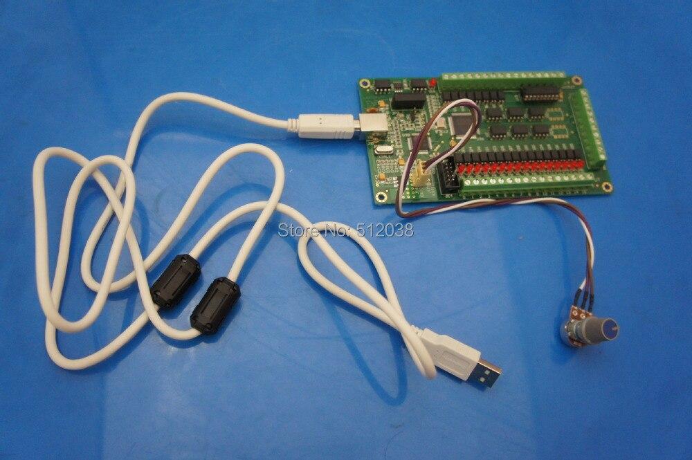 AKZ250 3 осевой контроллер движения с ЧПУ, USB карта, 200 кГц, интерфейс пробойной платы, шаговый/сервопривод, windows 2000/xp/vista/7