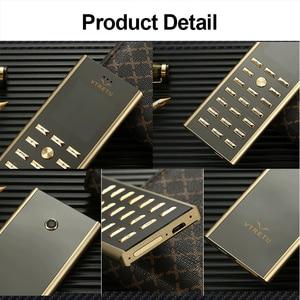 Image 5 - 高級メタルボディデュアル sim キー携帯電話 cectdigi V01 スモールミニカード 2 グラム GSM シニアバーロシアキーボード薄型携帯電話